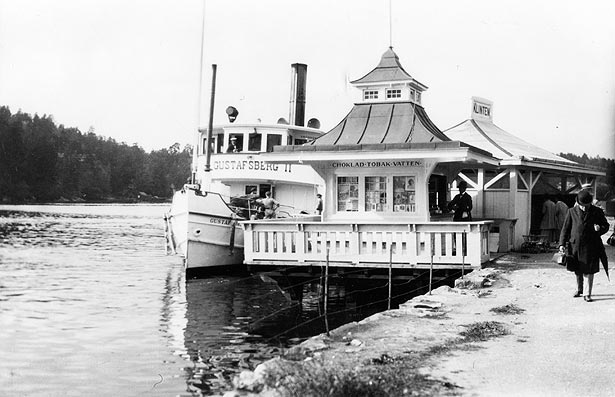 1916 Klintens Brygga, Stockholms Länsmuseum, Foto Carl-Oscar Östling
