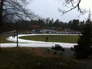 Ågesta Feb 2014, medeltemperaturen var +2 grader denna månad, Fotograf Per-Ivan Selinder