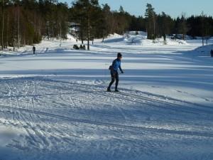 Skidspår Nacka Golf, Fotograf Torsten Hjälm